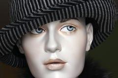 Шлем Fedora на головке манекена Стоковое фото RF