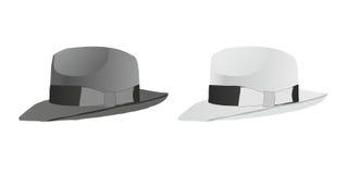 шлем fedora иллюстрация вектора