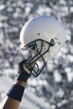 шлем grunge футбола Стоковое Изображение RF