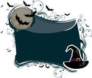шлем halloween предпосылки иллюстрация вектора