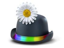 шлем s клоуна иллюстрация вектора