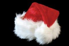 шлем s santa стоковое изображение rf
