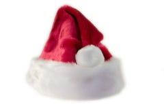 шлем santa предпосылки Стоковое Изображение
