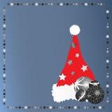 шлем santa рождества 3 Стоковая Фотография RF