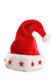 шлем santa рождества Стоковые Изображения