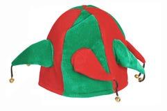 шлем santa Стоковое фото RF