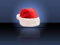 шлем santa Стоковые Изображения