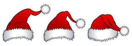 шлем santa claus бесплатная иллюстрация