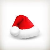Шлем Santa Claus иллюстрация вектора