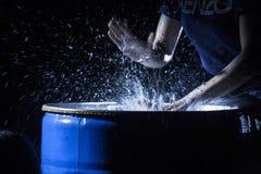 Шлепок на воде Стоковые Фото