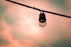 Шлепок улицы на заходе солнца Стоковые Фото