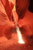 шлиц каньона Стоковое Фото