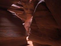 шлиц каньона Стоковое Изображение RF