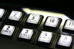 шлиц машины кнопок Стоковые Фотографии RF