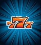 шлиц 7 знаков стоковые фотографии rf