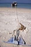 шлюпка анкера Стоковое фото RF