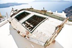 шлюпка Греция стоковое фото