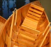 шлюпка деревянная Стоковые Изображения
