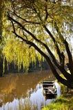 шлюпка деревянная Стоковые Фотографии RF