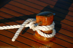 шлюпка деревянная Стоковое Изображение RF