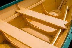 шлюпка деревянная Стоковая Фотография
