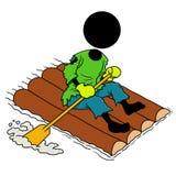 Шлюпка Rowing Стоковое Изображение