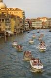 Шлюпки в Венеция Стоковое Фото