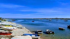 Шлюпки в Cabanas стоковые изображения rf