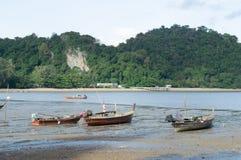 Шлюпки на гавани стоковое изображение rf