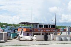 Шлюпки на гавани стоковое фото rf