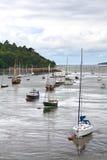 Шлюпки на заливе Conwy Стоковые Фото