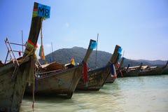 Шлюпки на островах Surin. стоковые фото