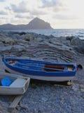 шлюпки пляжа Стоковая Фотография