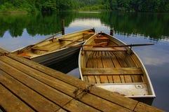шлюпки деревянные Стоковая Фотография RF