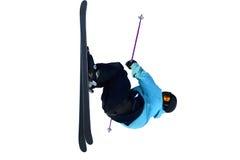 Шлямбур лыжи стоковая фотография rf