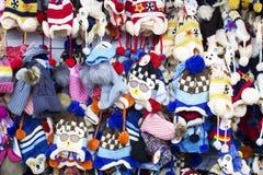 Шляпы зимы Стоковое Изображение