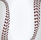 Шнурки бейсбола предпосылки Стоковое фото RF