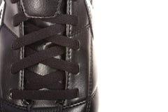 шнурки ботинка Стоковое фото RF