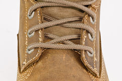 шнурки ботинка Стоковое Изображение