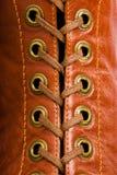 шнурки детали стоковое изображение rf