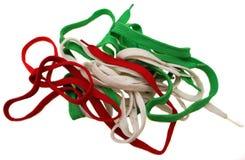 шнурки предпосылки Стоковая Фотография