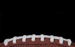 шнурки футбола Стоковое Изображение RF