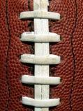 шнурки футбола Стоковое Изображение