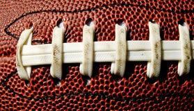 шнурки футбола Стоковые Изображения RF