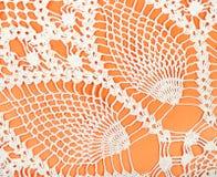 Шнурок картины ананаса концом вязания крючком вверх Стоковые Изображения