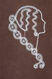 шнурок катушкы Стоковая Фотография RF