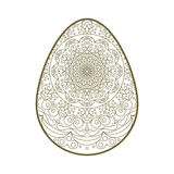 Шнурок пасхального яйца Стоковая Фотография