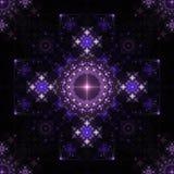 шнурок фрактали симметричный Стоковое Изображение