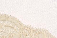 шнурок холстины Стоковое Фото