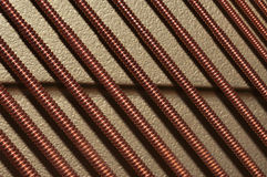 шнуры рояля Стоковая Фотография RF